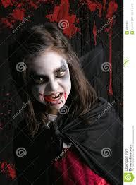 Girls Halloween Vampire Costume Halloween Vampire Costume Stock Photo Image 59920307