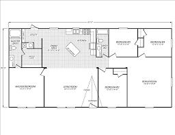 fleetwood homes 4 bedrooms plus bonus room floor plan floor