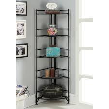 coaster corner bookcase coaster furniture corner wedge bookcase hayneedle