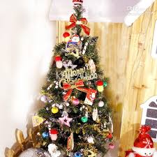 Fully Decorated Artificial Christmas Trees Fake Christmas Trees Decorated 7ft Pre Lit Liberty Pine Decorated