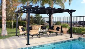 Different Types Of Pergolas by Aluminum Pergola Expectations Vs Reality Outdoor Living Online