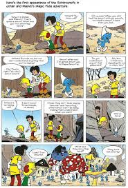 smurfing peyo comics journal