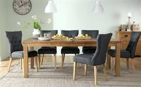 dining table for 8 oak extending dining table with 8 slate chairs
