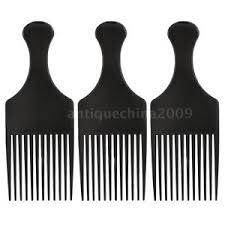 afro comb anself 3pcs afro comb curly hair brush comb hairdressing styling