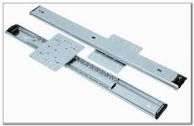 drawer slides bottom mount soft close cabinet home design