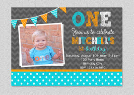 Baby 1st Birthday Invitation Card 1st Birthday Party Boy Invitations Image Inspiration Of Cake And