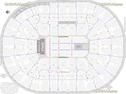 moda center rose garden arena detailed seat u0026 row numbers end