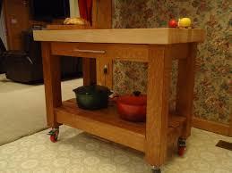 custom butcher block tables