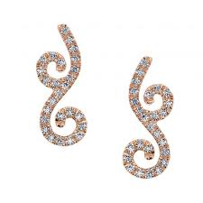 diamond ear studs diamond earrings studs style mars 26612 s diamonds