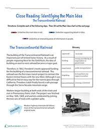 4th grade reading worksheets u0026 free printables education com