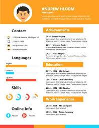 infographic resume builder linkedin u2013 inssite