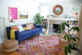 Navy Couch Decorating Ideas Baroque Kilim Rugs In Living Room Contemporary With Bright Colored