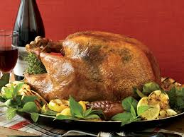 roast turkey with lemon and chives recipe grace parisi food wine