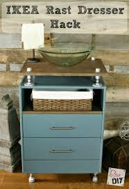 Vanity Ikea Hack Build This Easy Furniture Vanity In A Day Dresser Vanities And