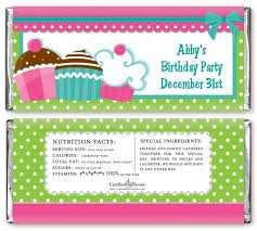 free bar wrapper templates cupcake trio birthday bar wrappers candles favors