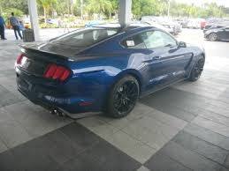 New Mustang Black 2016 Ford Shelby Gt350 Deep Impact Blue Track Package New Mustang