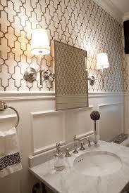 very attractive wallpapered bathrooms ideas on bathroom ideas