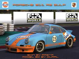 gulf porsche 911 trackmania carpark 2d skins porsche 911 rs gulf