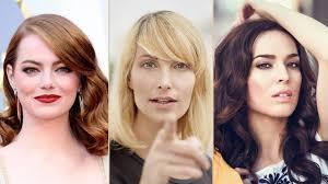 Frisuren Zum Selber Machen Schulterlanges Haar by 50 Frühlingsfrisuren Für Mittellange Haare Bild Der Frau