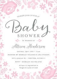 baby shower invite baby shower invitations 40 designs basic invite