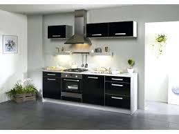 meuble cuisine laqué cuisine noir laque cuisine noir laque et bois 45 dijon 27490135