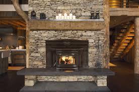 interior wood stove insert for fireplace wayfair lighting
