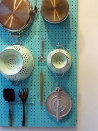 pegboard kitchen ideas how to make a pegboard wall organizer apartment therapy