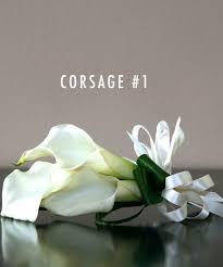calla corsage contemporary calla lilly collection bridal flowers to go