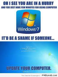 Computer Meme - 24 windows updating your computer meme pmslweb