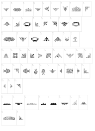 free ornaments font dingbats ancient fonts fontzzz