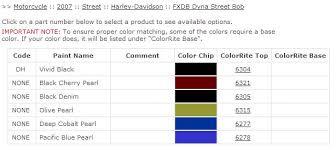 denim blue paint sample harley davidson forums