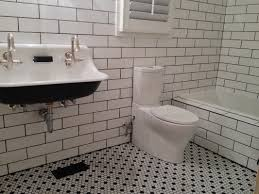 subway tile bathroom floor ideas white subway traditional bathroom floor tile 3803 home designs