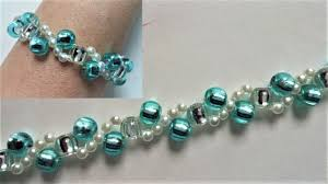 beading bracelet tutorials images Beading tutorials for beginners how to make a bracelet using pony jpg
