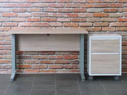 bureau of met tvilum bureau prima met ladenblok 120 cm breed