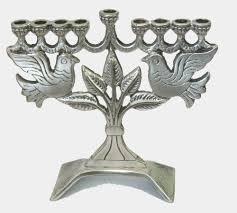 pewter menorah 165 best menorahs images on crowns torah and hamsa