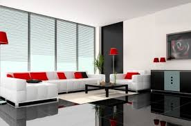 living room black and white ceramic wall tiles for modern living