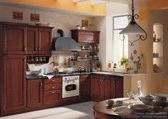 Traditional Italian Kitchen Design Traditional Medium Wood Golden Kitchen Cabinets 89 Kitchen