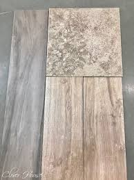 clover house porcelain wood look tile floor