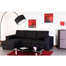 canapé d angle noir pas cher discount canape d angle affordable canape relax discount canapac
