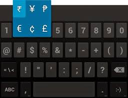 on android how to insert rupee symbol on android buffoon logic