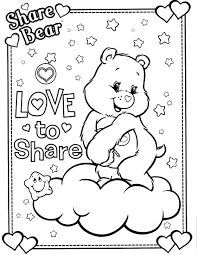 care bears 15 coloringcolor com