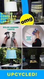 Diy Solar Light by Diy Solar Powered Outdoor Lamp