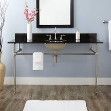 kingston brass console sink bathroom bathroom kingston brass console table combo in white with