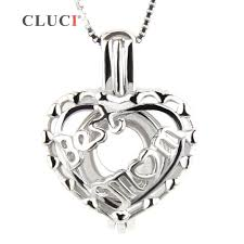 s day locket cluci best s day gift 925 sterling silver locket heart shape