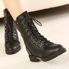 womens boots low heel lace up ankle boots low heel