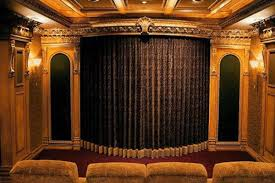 Home Theater Blackout Curtains Home Theater Curtains Gordyn