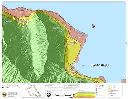 Kahului Airport Map Hawaii State Tsunami Evacuation Maps