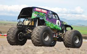 monster truck grave digger ride along with grave digger performance video truck trend
