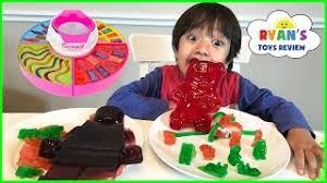 u0027s largest gummy worm gummy bear snake candy challenge