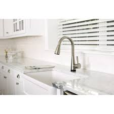 Brizo Kitchen Faucet Reviews Brizo 64070lf Ss Venuto Brilliance Stainless Pullout Spray Kitchen